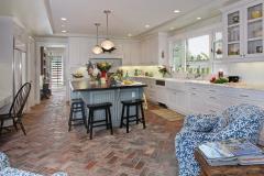 Brick-floor-tiles-in-chevron-for-kitchen-floor
